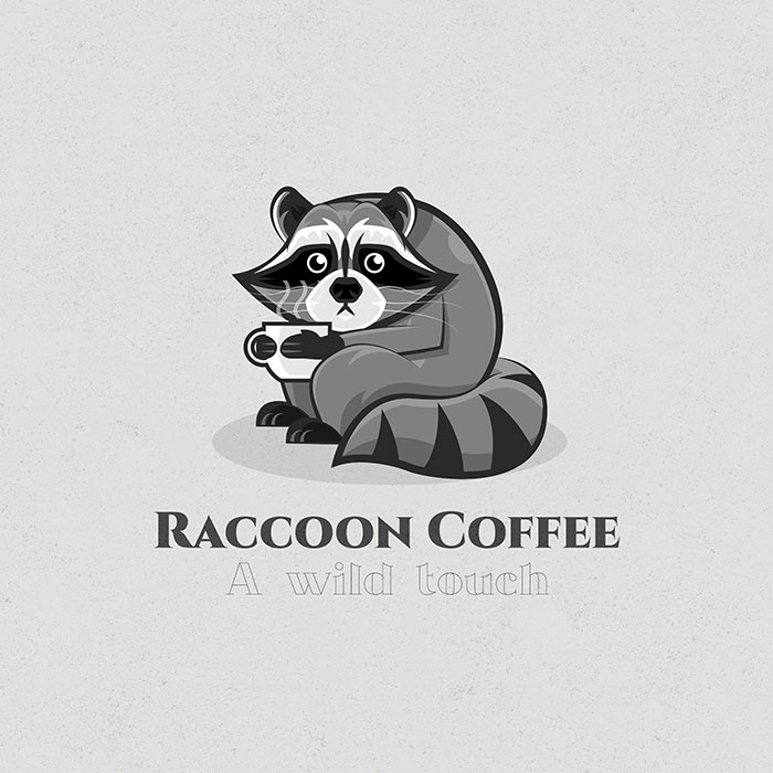 Logo Raccoon Coffee