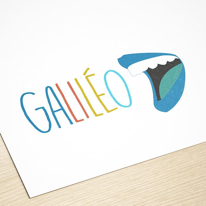 Logo galiléo - Jérémy Cochet graphiste print & web