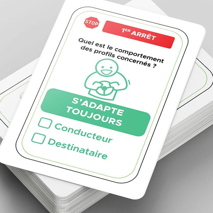 Cartes socle - Jérémy Cochet graphiste print & web