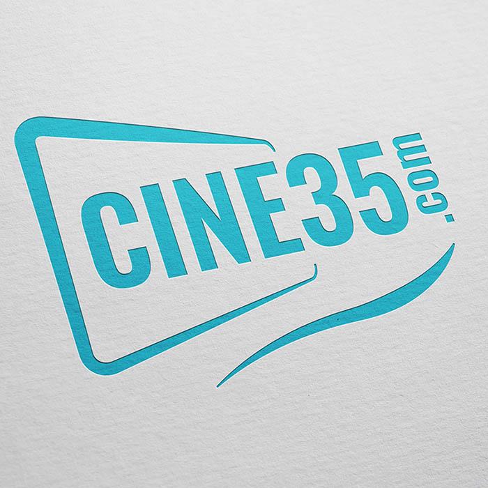 logo ciné35 - Jérémy Cochet graphiste print & web