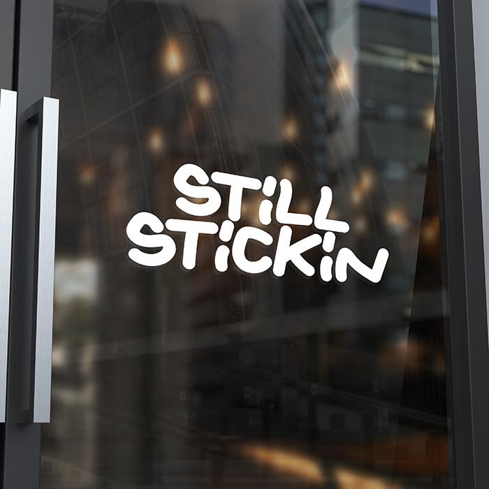 logo still stickin - Jérémy Cochet graphiste print & web
