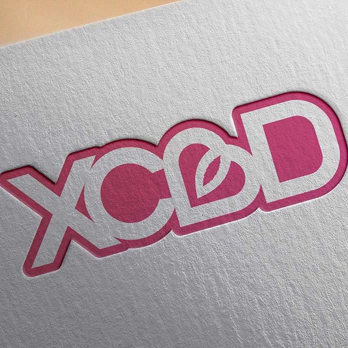logo xcbd - Jérémy Cochet graphiste print & web